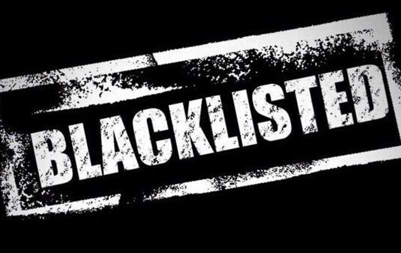 कालो सूची
