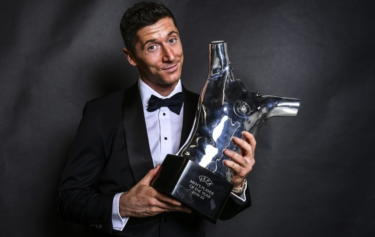 रोबर्ट लेवान्डोस्की बने युरोपेली वर्ष खेलाडी