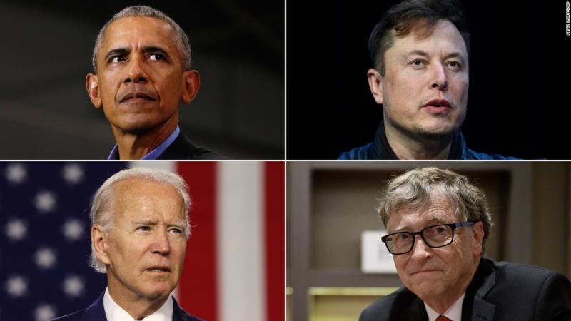 बाराक ओबामा, बिल गेट्स, एलन मस्क लगायतको ट्विटर एकाउन्ट ह्याक